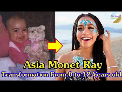 Asia Monet Ray Transformation From 1 To 12 Years Old