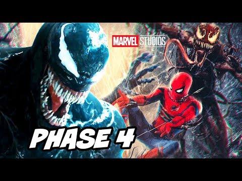 Spider-Man Venom Marvel Phase 4 Comic Con Panel Breakdown