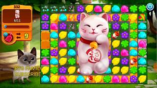 Lets play Meow match level 332 HARD LEVEL HD 1080P