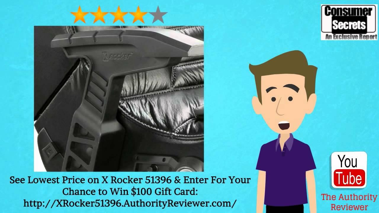 Review SALE X Rocker 51396 Pro Series Pedestal 21 Video Gaming – X Rocker Pro Series Pedestal Video Gaming Chair Wireless Black