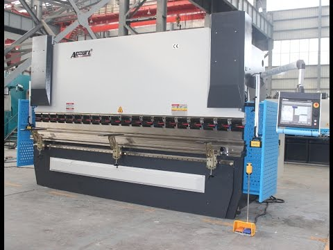Accurl 4 Axis CNC Press Brake | 200 Tons Servo Electric Press Brake | CNC Metal Benders Delem DA66T