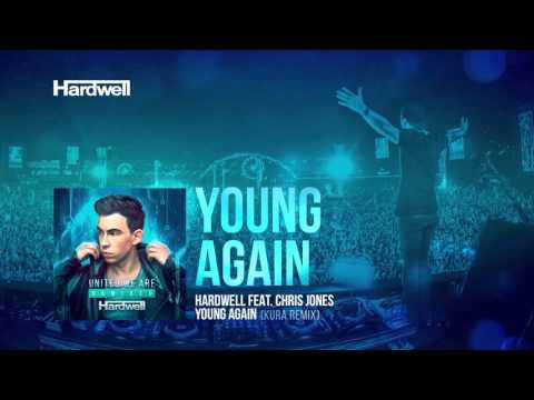 Hardwell feat. Chris Jones - Young Again (KURA Remix) [Cover Art]