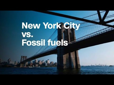 New York City wants oil companies to pay for climate change