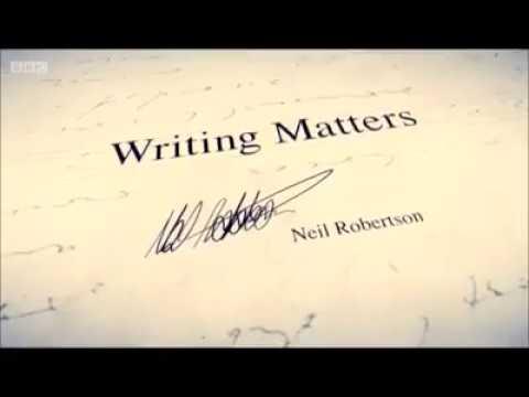 Writing matters - Neil Robertson