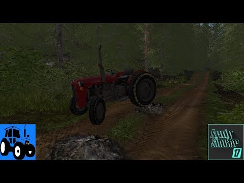 Let's Play Farming Simulator 2017 Norsk Woodshire Episode 1