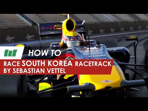 Sebastian Vettel drives the F1 South Korean racetrack | Formula 1 | HOW TO