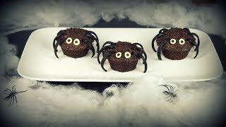 HALLOWEEN Muffins Araignées | Spiders muffins