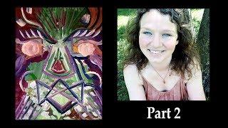 Painting Archangel Metatron PART 2 💠 Energy Activating Portrait