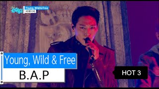 [Comeback Stage] B.A.P - Young, Wild & Free, ???? - ? ??? ? ??, Show Music core 20151121 MP3
