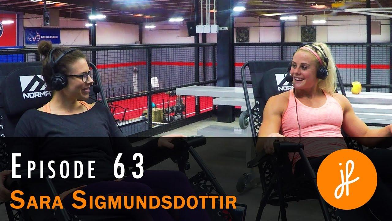0bdebce1f Ep 63 - Sara Sigmundsdottir on finding her happy place - Julie Foucher |  Reebok CrossFit Games Athlete