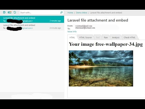 Email Attachment File With Laravel Part 16 Youtube