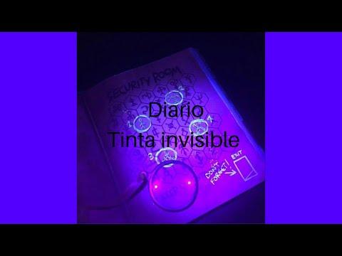 Diarios De Gravity Falls Video 8 Con Tinta Invisible