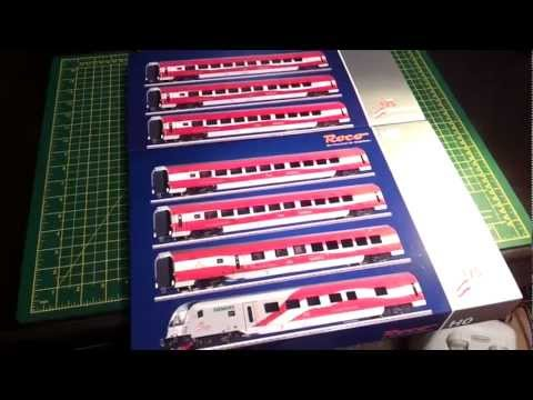 ROCO RAIL JET 175 Unboxing & Tips