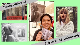 """Baixar Buying Taylor Swift's """"folklore"""" album + folklore cd unboxing!"""