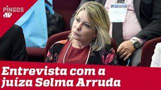 Juíza Selma relata pressão de Flávio Bolsonaro contra CPI da Lava Toga