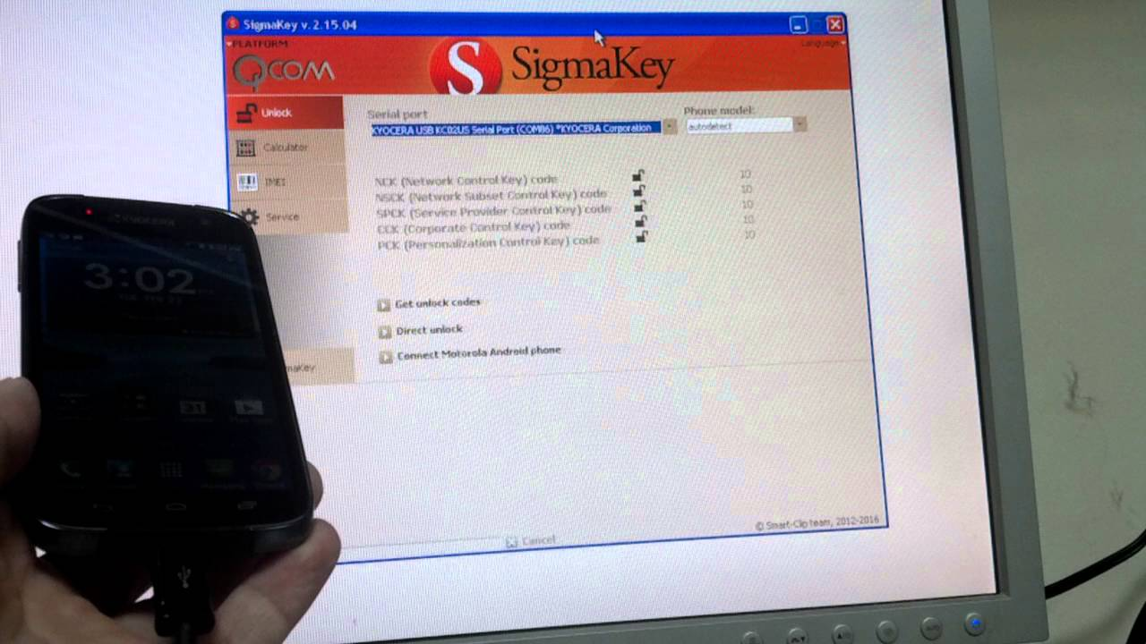 Unlock Kyocera C6530 with Sigmakey