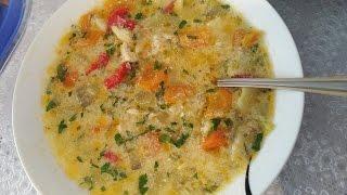 Bakina kuhinja - najzdrava pileća čorbica sa povrćem /chicken soup with vegetables/