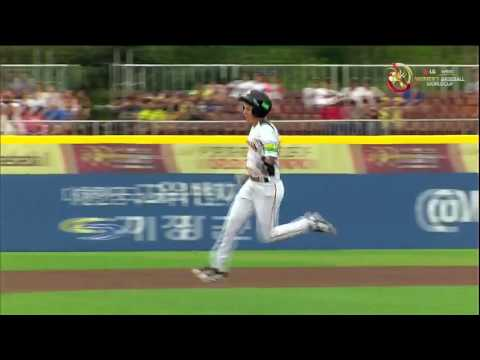 Highlights: USA v Australia - Women's Baseball World Cup 2016