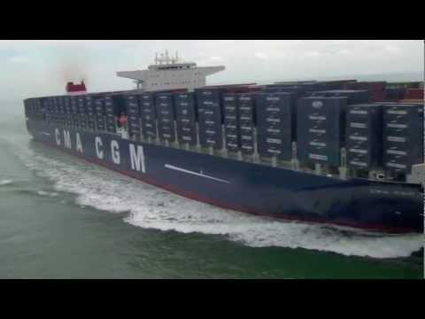 CMA CGM Marco Polo, la containership più grande al mondo