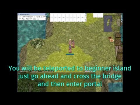 Leveling in Training Grounds Ragnarok Online job 1-10