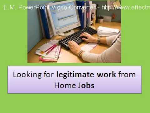 Legitimate Online Data Entry Job