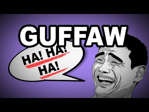 Learn English Words: GUFFAW - Meaning, Vocabulary with Pictures and Examples