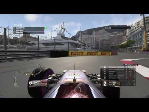 F1 2016 - Ultimate AI at Monaco - 50% Race
