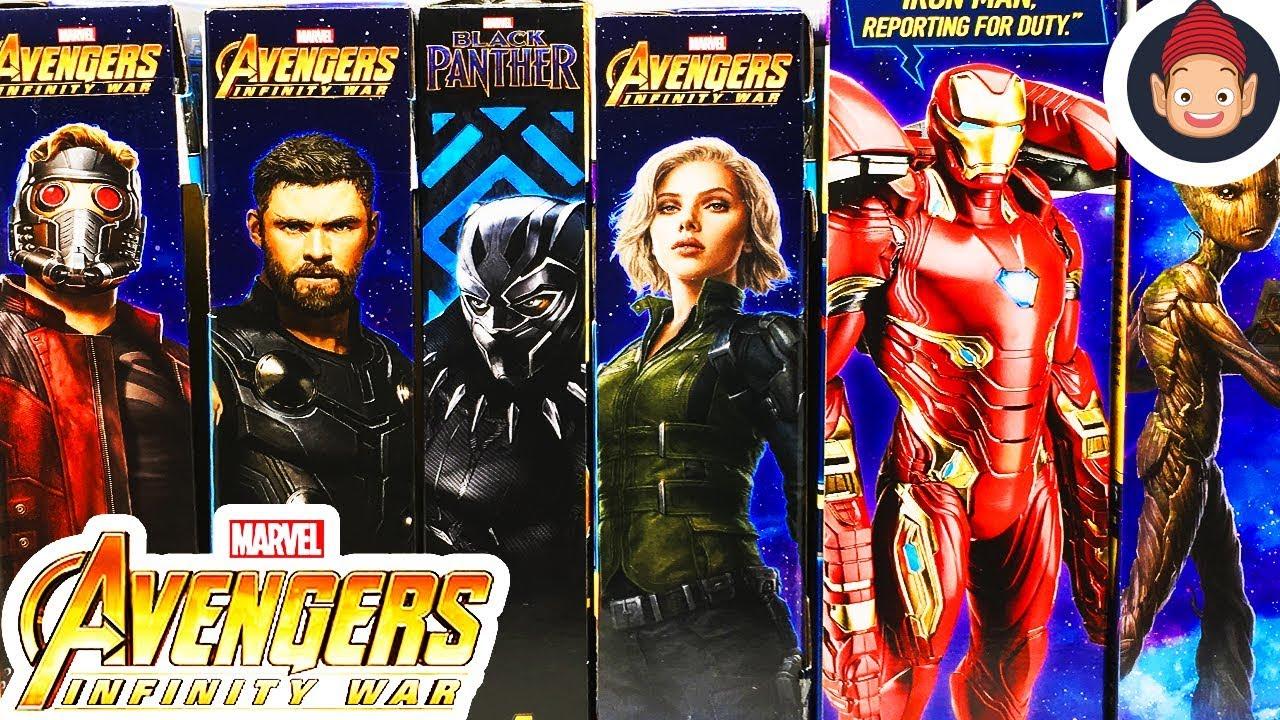 Avengers Marvel Infinity War Titan Hero Series Black Widow with Titan Hero