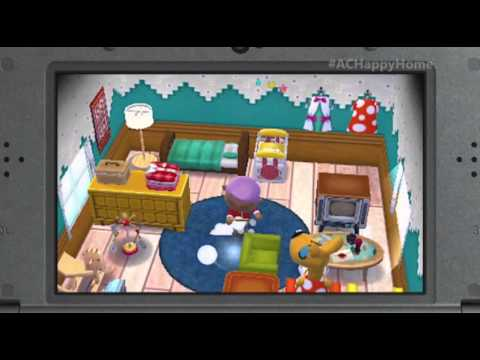 Animal Crossing Happy Home Designer Trailer E3 2015 YouTube
