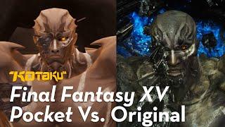Final Fantasy XV Pocket Edition Vs. The PS4 Pro Version