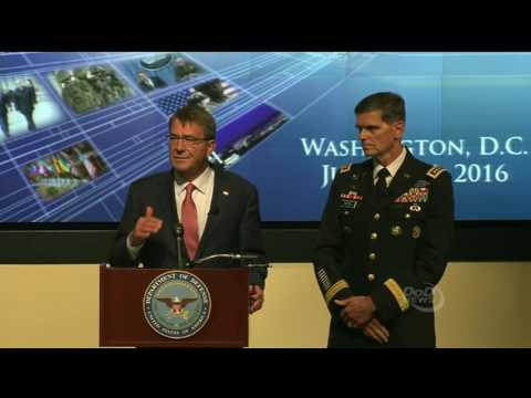 NATO News ARTICLE Included: Def. Sec. Carter Briefs Press on Counter-ISIL Efforts on July 20, 2016.