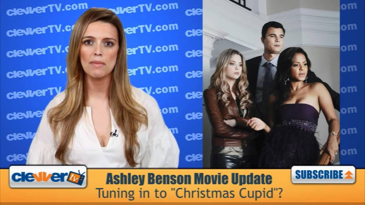 Ashley Benson S Christmas Cupid Movie Update Youtube