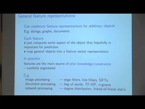 [PURDUE MLSS] Introduction to Machine Learning by Dale Schuurmans Part 2/6