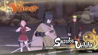 Naruto Shippuden Ultimate Ninja Storm Gameplay - TGS 2015