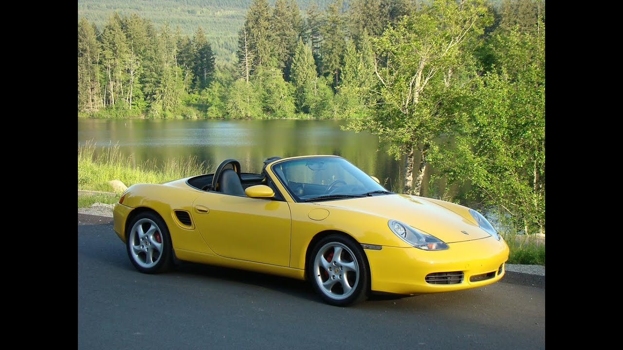 2003 porsche boxster s 3 2 h6 6 spd startup engine full tour overview youtube