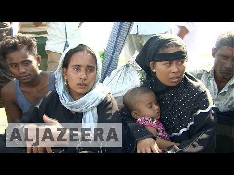 Rohingya refugees in Bangladesh speak of 'horrors in Myanmar'