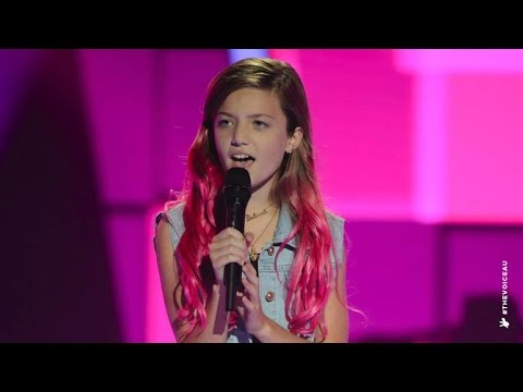 Eve Sings Still Into You  The Voice Kids Australia 2014