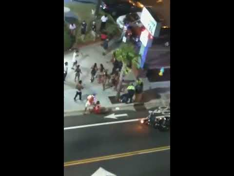 MYRTLE BEACH SHOOTING CAUGHT ON VIDEO
