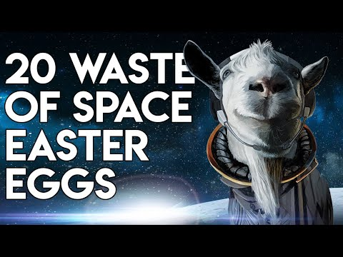 Goat Simulator: Waste Of Space - 20 Easter Eggs, Secrets & References
