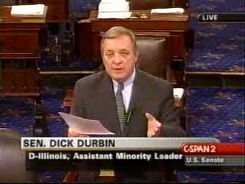 Durbin Compares U.S. Troops to Nazi