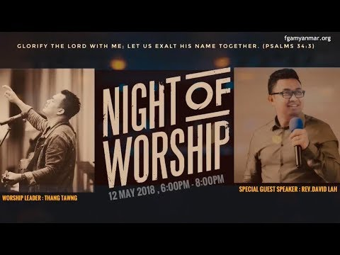 Rev  David Lah  A Night of Worship