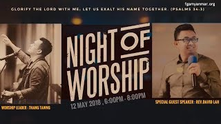 Video Rev  David Lah  A Night of Worship download MP3, 3GP, MP4, WEBM, AVI, FLV Mei 2018