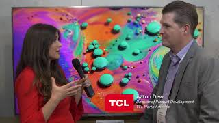 Tcl Booth Tour With Alison Jordan At Ces 2018