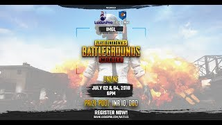 IMGL FINALS - PUBG MOBILE TOURNAMENT