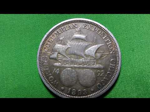 COLUMBUS HALF DOLLAR 1893 PART 2