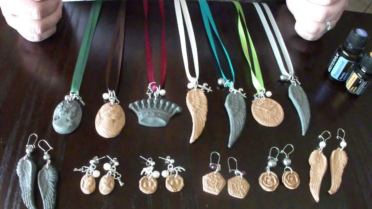 Spoiled nice how to infuse aromatherapy clay jewelry with doterra spoiled nice how to infuse aromatherapy clay jewelry with doterra essential oils youtube aloadofball Gallery