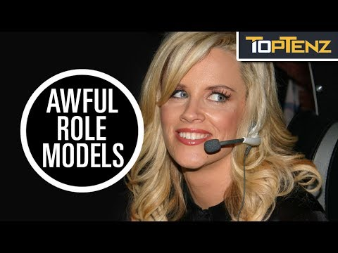 Top 10 TERRIBLE Female ROLE MODELS