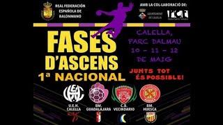 """Gambar cover Handbol: BM Huesca """"B"""" – BM Guadalajara"""