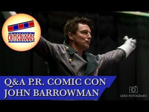 John Barrowman FULL Q&A Panel @ PR Comic Con 2018