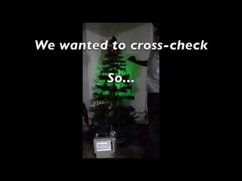 Pulse-sensing Christmas Tree That Beats With Your Heart